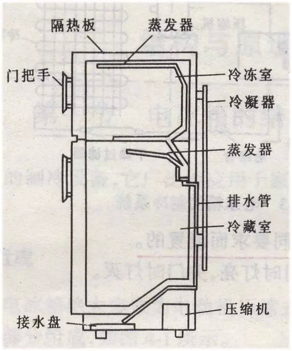 冰箱作为每个家庭的必备品越来越受到人们的关注。与此同时用户对冰箱的性能、外观等方面的要求也越来越高。 1、冰箱的结构  电冰箱的基本组成   箱体爆炸图    门体爆炸图   冷藏室冷冻室爆炸图  2、冰箱材质要求的特殊性  低温性能好 冰箱通常使用温度在-18以下,与常温比较温差达40-50。所以对材料的低温性能要求较高。  耐环境应力开裂 冰箱内胆及箱体不可避免要接触动植物油,遭受发泡剂的浸蚀等。因此要求材料在正常使用过程中不能开裂。  健康安全  在正常使用下不释放对人体有害的任何