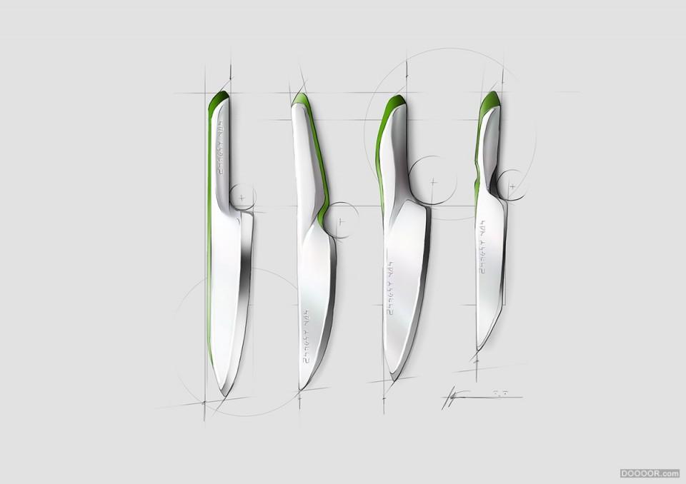 chaeder产品设计草图和渲染-格物者-工业设计图片