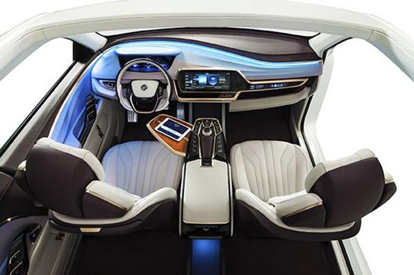 ower 创新汽车内饰氛围灯设计高清图片