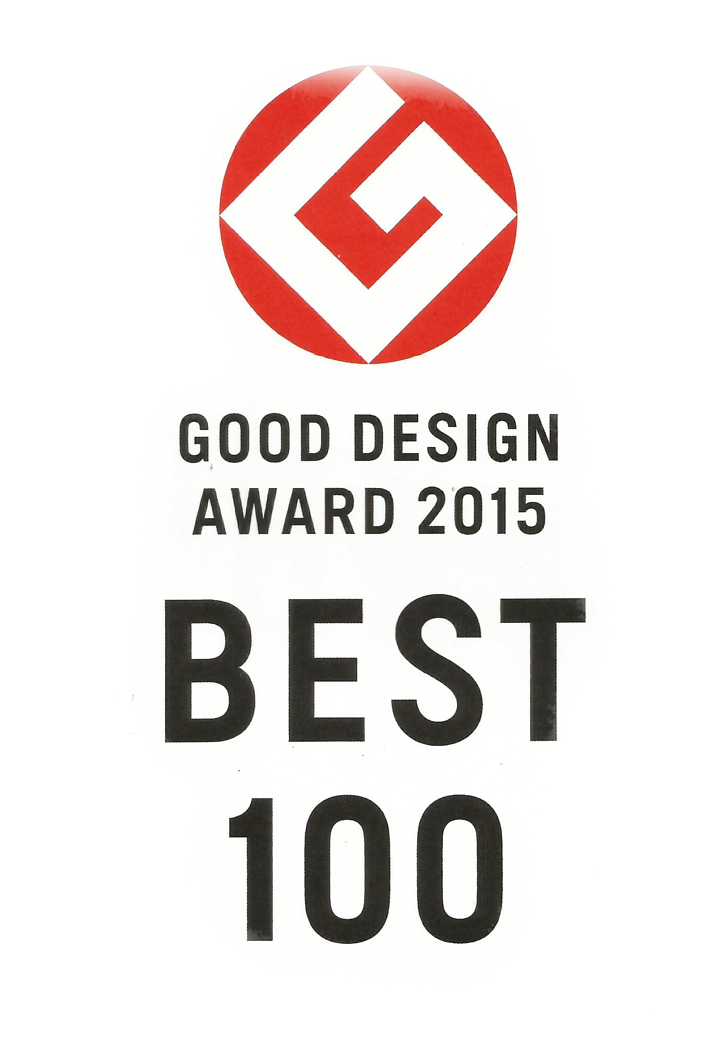 good design award 2015 best100. Black Bedroom Furniture Sets. Home Design Ideas