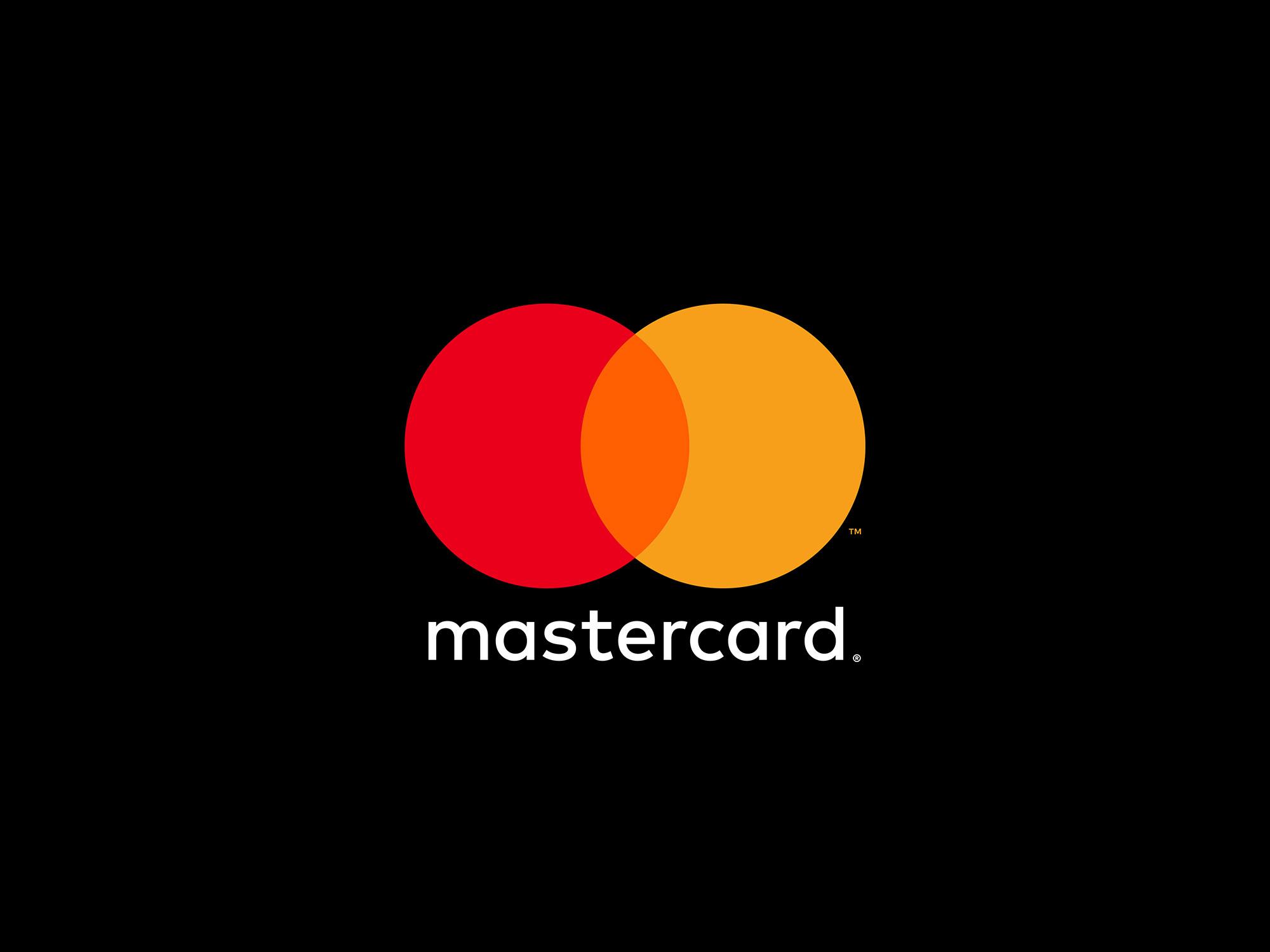 由美国纽约著名设计公司五角设计操刀的mastercard(万事达卡)的新logo