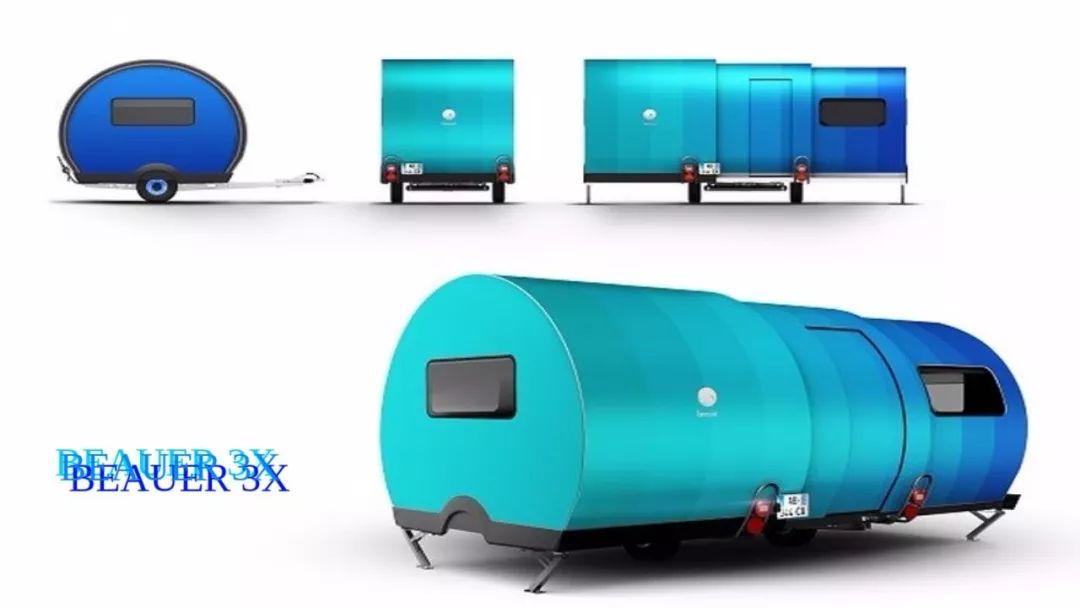 创意折叠家具加盟_可伸缩微型房车 BeauEr 3X-格物者-工业设计源创意资讯平台_官网